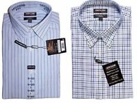 Kirkland Signature Men's TAILORED FIT Dress Shirt Non-Iron 100% Cotton VARIETY!