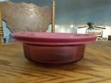 VISIONS V-30-B BAKING DISH WITH LID FOR FREEZER OR FRIDGE. VERY GOOD USED COND.