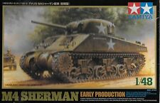 1/48 Tamiya 32505 - US WWII M4 Sherman Tank Early Production  Plastic Model Kit