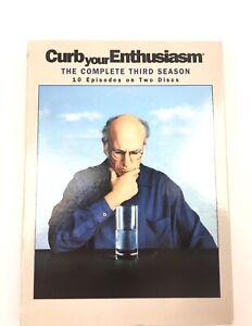 CURB YOUR ENTHUSIASM: COMPLETE THIRD SEASON (2PC) DVD - Region 1.- Aus Seller