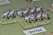 25mm napoleonic / british - hussars 10 figures - cav (24726)