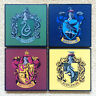 Primark Harry Potter COASTERS Hogwarts House Slytherin Hufflepuff Gryffindor