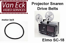 Elmo SC-18 belts  4 belt set (motor, top, supply-arm, counter) (BT-0979-MTAC)