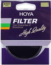 Hoya 72mm Infrared IR72 Lens Filter - Hoya 72mm R72 New UK Stock