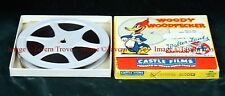Castle Films 466 Woody Woodpecker BATHING BUDDIES 5½ inch reel 8mm film