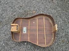 Vintage 70s Epiphone Ft150 Series Guitar Rwd Back Laminate Blue Kalamazoo Label!