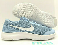Nike Flex Experience RN 7 GS White Blue Running Training Youth 943287-401 NIB