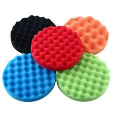 7'' Car Polisher Pads Kit 5pcs Sponge Buffer Polishing Pads For Auto Paint Care