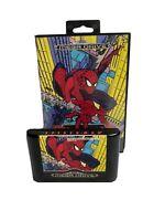 Spider-man Sega Mega Drive UK Pat Pending