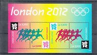Sierra Leone 2012 MNH London Summer Olympics 4v M/S Games Olympiad Sports