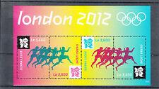 Sierra Leone 2012 neuf sans charnière Londres Jeux Olympiques d'été 4V m / s jeux olympiade Sports