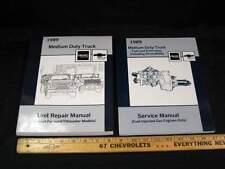 1989 GMC Chev Medium Duty Truck Unit Repair & Fuel & Emmissions Manual