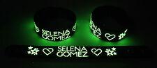 SELENA GOMEZ NEW! Glow in the Dark Rubber Bracelet Wristband  GG355