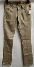 NWT Dickies Women's Work Skinny Jeans Khaki Poly Spandex  Junior Sz. 3   A7