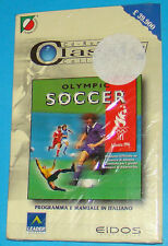 Olympic Soccer - PC New Nuovo Sealed