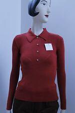 Pullover Strickpulli mit Knöpfen Rockabilly sweater 60s True Vintage 60er NOS