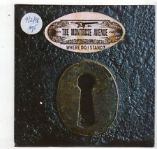 (HL206) The Montrose Avenue, Where Do I Stand? - 1998 DJ CD