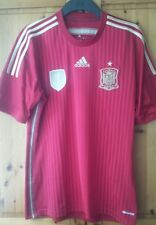Adidas 14-15 Spain Football Shirt Spanish Soccer Jersey Size M for Adult