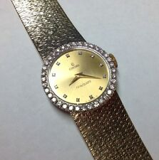AMAZING CONCORD 14K YELLOW GOLD DIAMOND WRIST WATCH