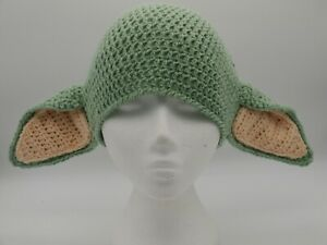 Mandalorian Inspired Baby Yoda Hat, To Fit 3-6 Months