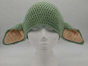 Mandalorian Inspired Baby Yoda Hat, To Fit toddler.