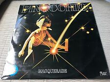 "MASQUERADE - PINOCCHIO 12"" LP MIXED - SPAIN PROMO ZAFIRO 79 - DISCO"