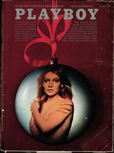 Playboy Nr. 12 Dezember 1972 - Die Schaubühne Berlin + Jewgeni Jewtuschenko