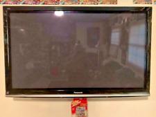 """Panasonic Viera 50"""" Plasma TV w/stand,manual,remote Exc Used Condition TC-P50G10"""