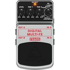 Behringer FX600 Digital Multi FX Stereo Effects Pedal