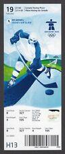 2010 Vancouver Olympics Men's Ice Hockey Ticket FINLAND vs GERMANY 2/19
