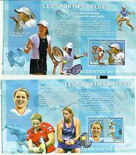 TENNIS, PING PONG & CYCLING - CONGO 2006 blocks perforated