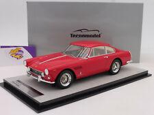 """Tecnomodel TM18-102A # Ferrari 250 GTE 2+2 Baujahr 1962 in """" rosso corsa """" 1:18"""