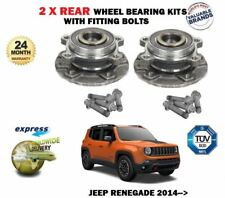 For jeep renegade 1.4 1.6 2.0 CRD 2014 - > 2x rear wheel bearing set