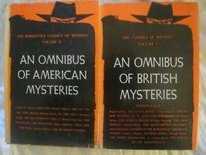CRIME OMNIBUS OF BRITISH & US  MYSTERIES 1st Printings Stoker Doyle et al *RARE*