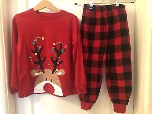 Kids Christmas Pyjamas Age 4-5 Years