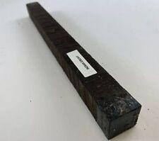 """Beautiful!   Indian Ebony   Hobby Wood, Turning Blanks Size: 1"""" X 1"""" X 12"""""""
