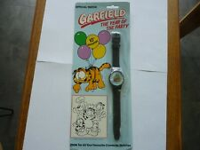 VINTAGE COLLECTABLE 1978 GARFIELD OFFICIAL 10TH ANNIVERSARY WATCH BOXED NOS