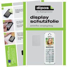 2x AVM Fritz!Fon C4 Schutzfolie matt Displayschutzfolie Folie dipos Displayfolie