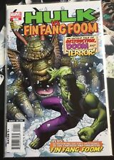 Hulk vs Fing Fang Foom 1 High Grade Marvel Comic Book 9.4 NM