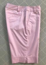 Vineyard Vines Women's Size 8 Pink Bermuda Long Golf Shorts Stretch EUC