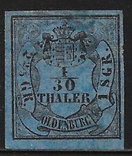 Oldenburg stamps 1852 MI 2  UNG  VF