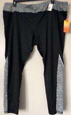 Tek Gear Warm Tek Women Plus Size 3X Pieced Fleece Lined Workout Leggings $44
