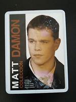 Matt Damon Collezione 5 Film Ocean ´ S Syriana Tin Box Steelbook 5 X DVD - 3T