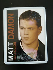 MATT DAMON COLECCION 5 PELICULAS TIN BOX STEELBOOK 5 DVD CASTELLANO UNICO!!!