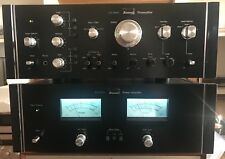 SANSUI CA-2000+BA-2000. Recently Recapped And Serviced. Excellent Condition.