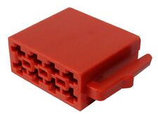Connecteur vide fiche ISO 8PIN pour autoradio faisceau haut-parleurs enceintes