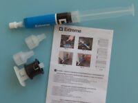 Dichtmittel Klimaanlagen inkl 3x Adapter Leak Stop PKW R134a R1234yf R12 R410a