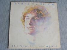 Barry Manilow - If I should love again - vinyl album