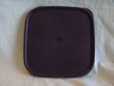 TUPPERWARE SQUARE MODULAR MATE SEAL LID # 1623 BLACK