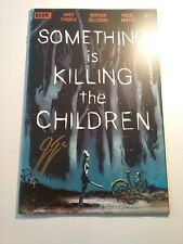 SOMETHING IS KILLING THE CHILDREN #1 1st Print Boom Netflix 9.2 Signed Tynion